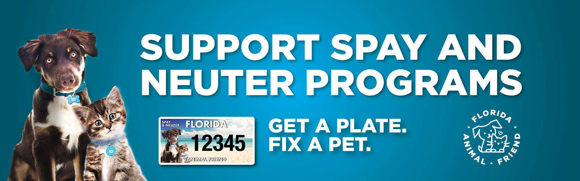 Spay and Neuter Support Program with Florida Animal Friend | Caloosa Humane Society