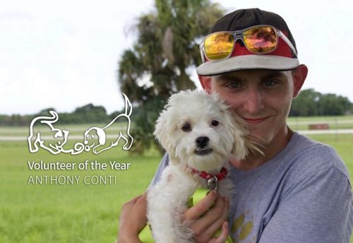 Antony Conti - Caloosa Humane Society Volunteer of the Year